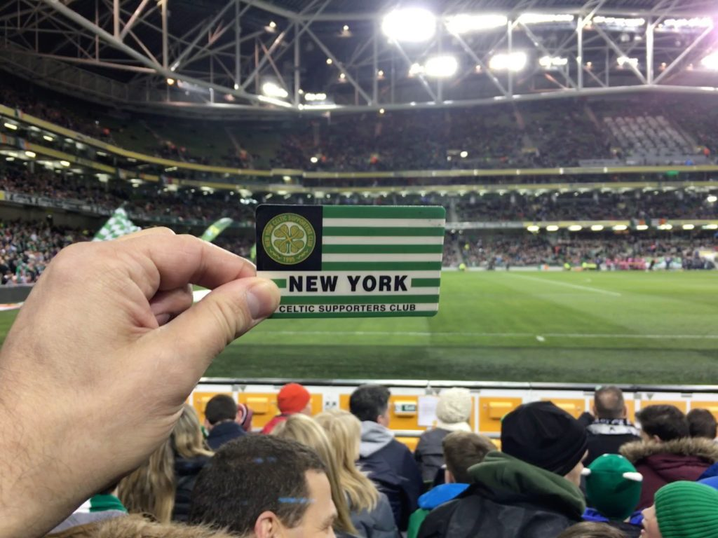 And of course, I brought the world famous card for the obligatory pic. Hail Hail!